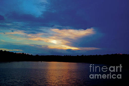 Lake Sunset by Debra Crank