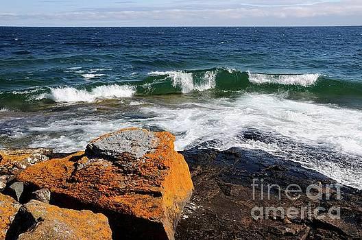 Lake Superior Beauty by Sandra Updyke