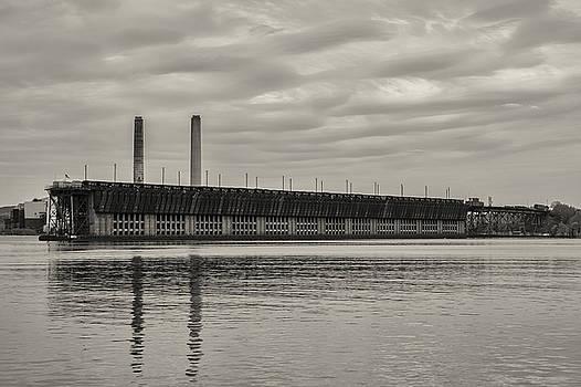 Lake Superior Oar Dock by Dan Hefle