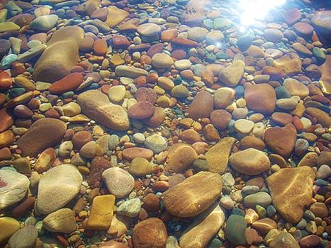 Lake Superior Rock Beach 1 by Caroline Ferrante