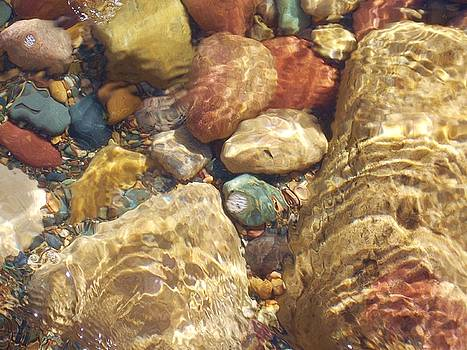 Lake Superior Rock Beach 2 by Caroline Ferrante