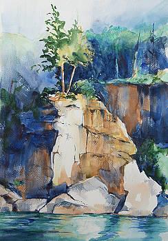 Lake Superior Rock Formations by Adam VanHouten
