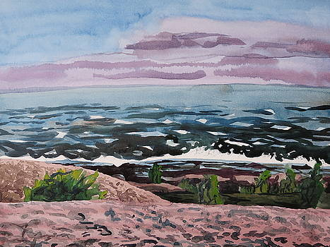Lake Superior Shore by Bethany Lee