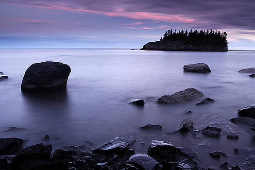 Lake Superior Twilight by Eric Foltz