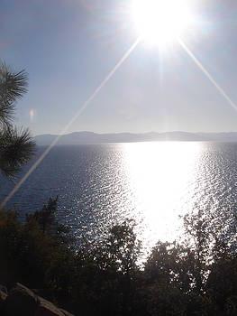 Lake Tahoe - Approaching Sunset by Chris Cane