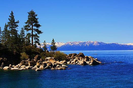 Lake Tahoe At Sand Harbor by Russell  Barton