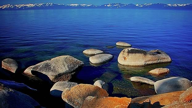 Lake Tahoe Blue, California by Flying Z Photography by Zayne Diamond