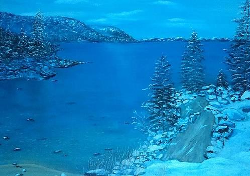 Ilona MONTEL - Lake Tahoe, California