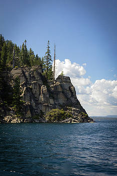 Lake Tahoe Cliffs by Bryant Coffey