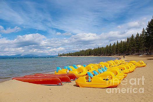 Lake Tahoe off season by Irina Hays