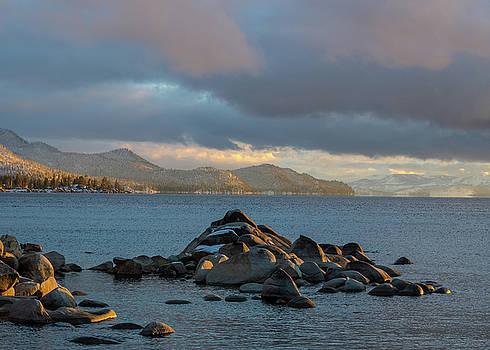 Lake Tahoe Rocks by Martin Gollery
