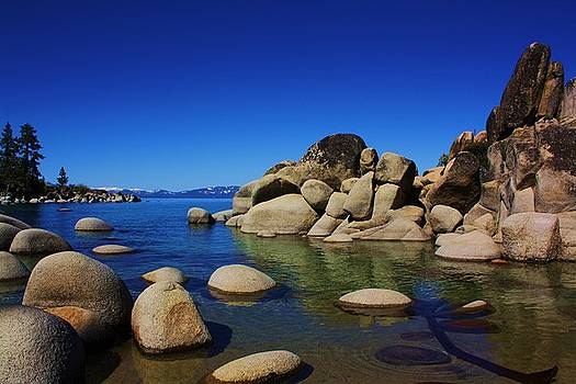 Lake Tahoe shores by Russell  Barton