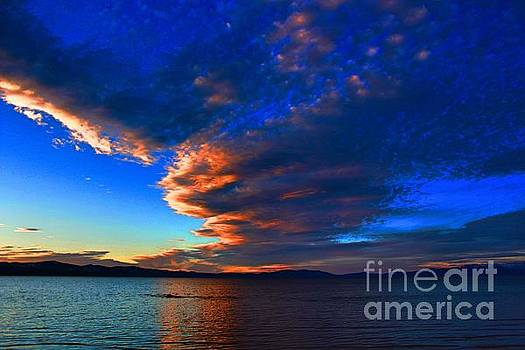 Lake Tahoe sunset by Irina Hays