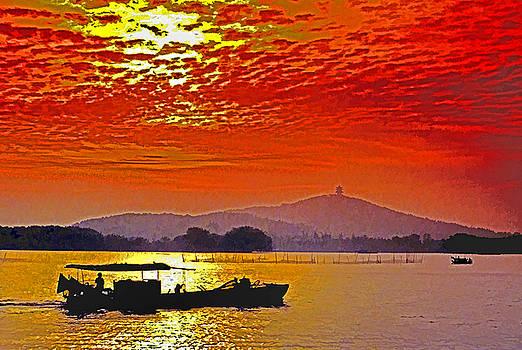 Dennis Cox ChinaStock - Lake Tai Hu Morning
