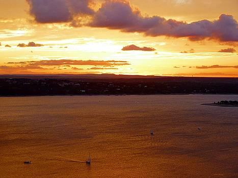 Lake Travis Sunset by Tim Mattox