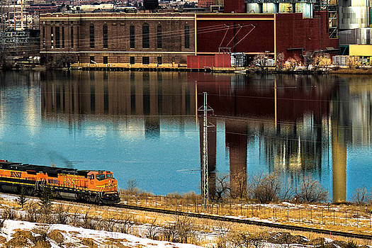 Lake View Train by Juli Ellen