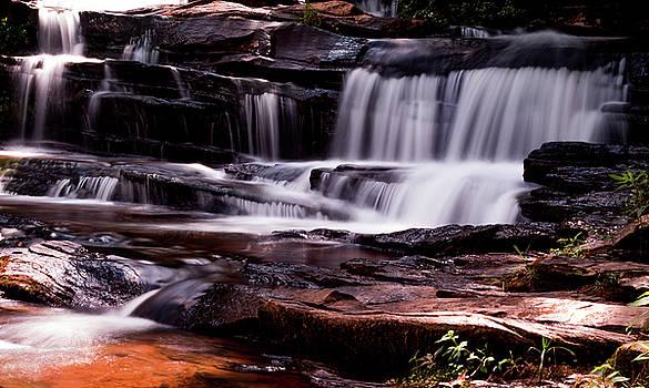 Lake Waterfall by Ant Pruitt