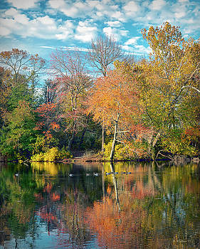Lake Waterford In Autumn by Brian Wallace