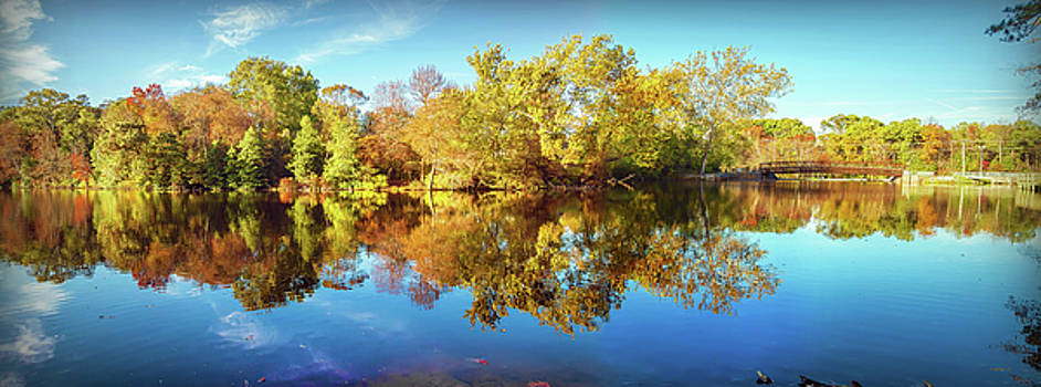 Lake Waterford In Fall - Pano by Brian Wallace