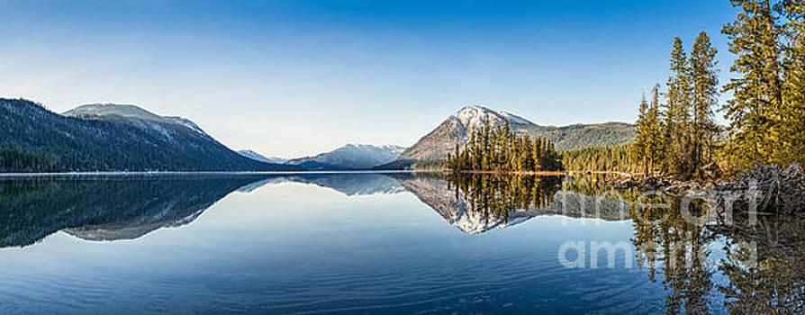 Jamie Pham - Lake Wenatchee Panorama