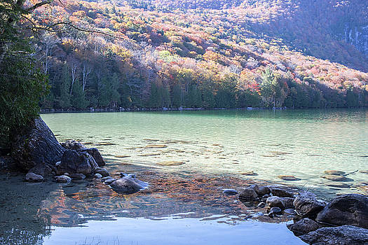 Lake Willoughby with Fall Color by New England Photographic