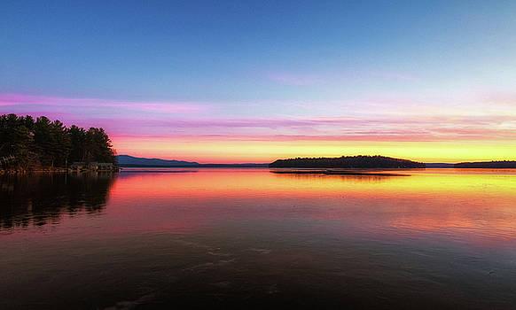 Lake Winnipesaukee Reflections by Robert Clifford