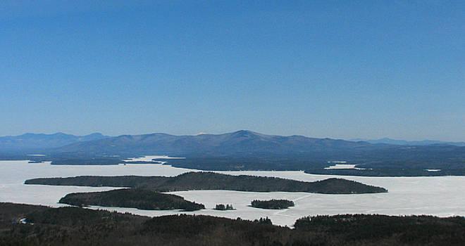 Michael Mooney - Lake Winnipesaukee view from Mt. Major