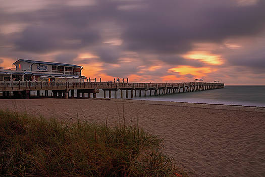 Lake Worth Pier by Juergen Roth
