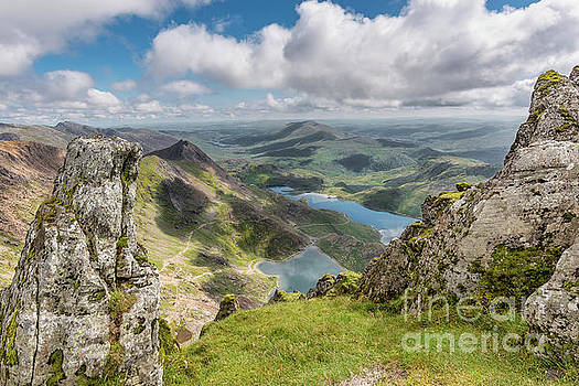 Lakes of Snowdonia by Adrian Evans