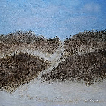 Lakeshore Dunes A by Dick Bourgault