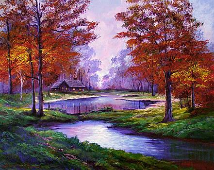 David Lloyd Glover - Lakeside Cabin