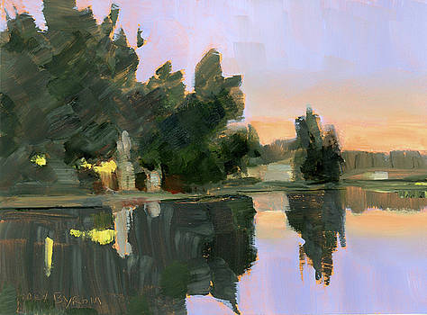 Mary Byrom - Lakeside Dusk