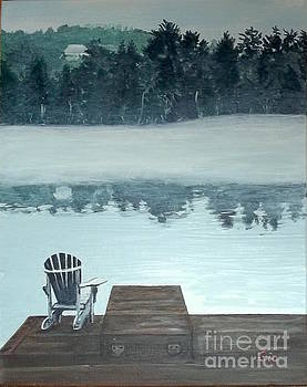 Lakeside Solitude by Frank Giordano
