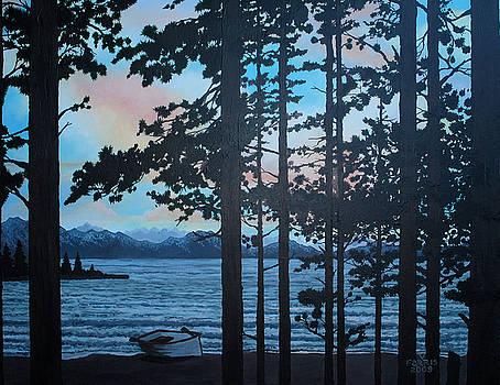 Lakeside Tahoe by Vernon Farris