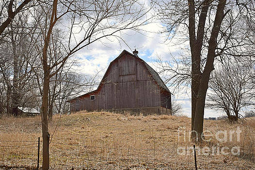 Lakeview Barn by Kathy M Krause