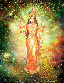 Lakshmi in a Galaxy  by Ananda Vdovic