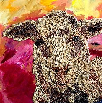 Lamb and wool by Naomi Gerrard