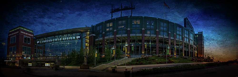 Lambeau Field at Dusk by Joel Witmeyer