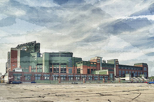 Lambeau Field Painterly Edition by Joel Witmeyer