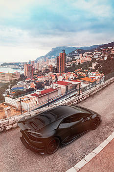 Lamborghi Huracan in Monaco by Chris Thodd