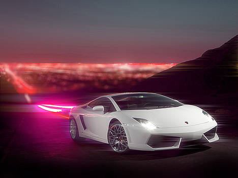 Lamborghini in Action by Moiz Qureshi