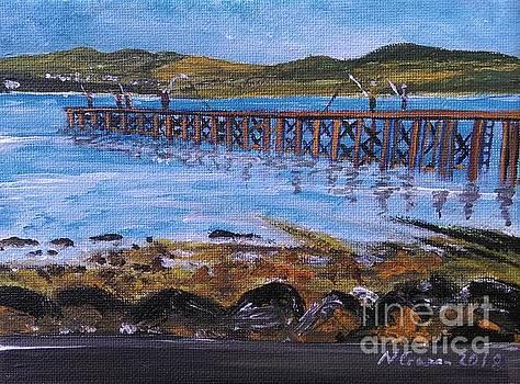 Lamonts Pier, Port Glasgow by Neal Crossan