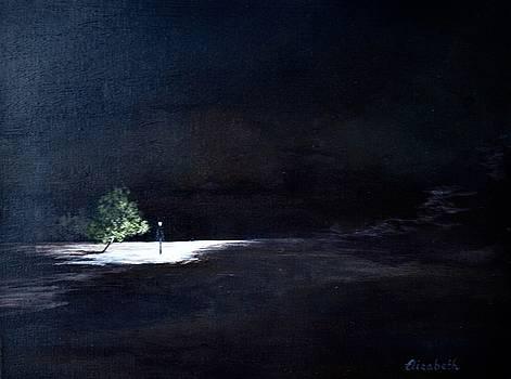 Lamp Post III by Beth Maddox