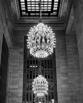 Lamps in Grand Central Station by Lora Lee Chapman