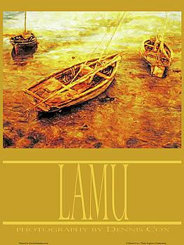 Dennis Cox Photo Explorer - Lamu Travel Poster