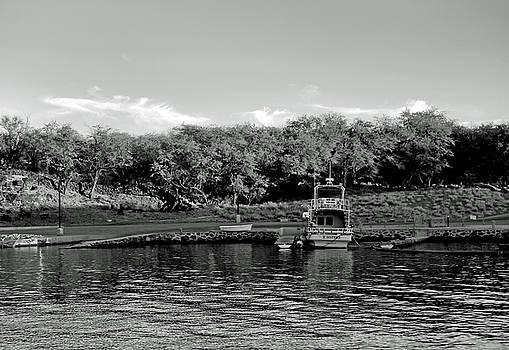 Robert Meyers-Lussier - Lanai Harbor at Sunset Study 3