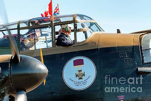 Lancaster Bomber Vera - Cockpit by Robert McAlpine