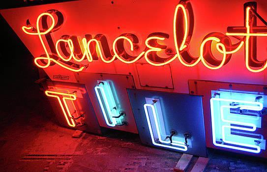 Lancelot Tile Neon Photograph by Uli Gonzalez