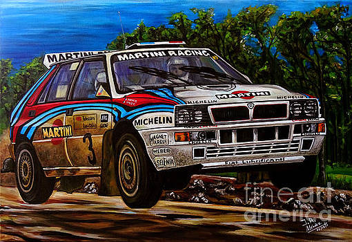 Lancia Delta Integrale by Jose Mendez