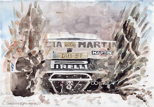 Lancia Group B by Rimzil Galimzyanov